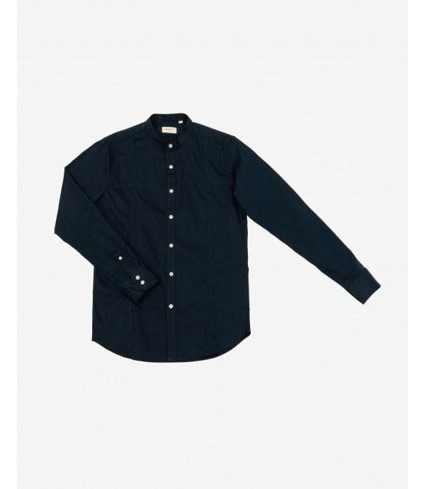 Camicia coreana basica slim fit