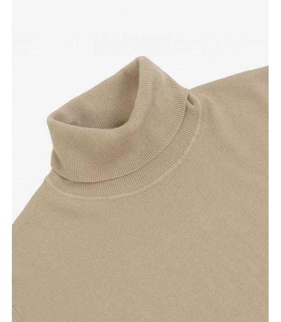 Turtleneck soft peach feel sweater