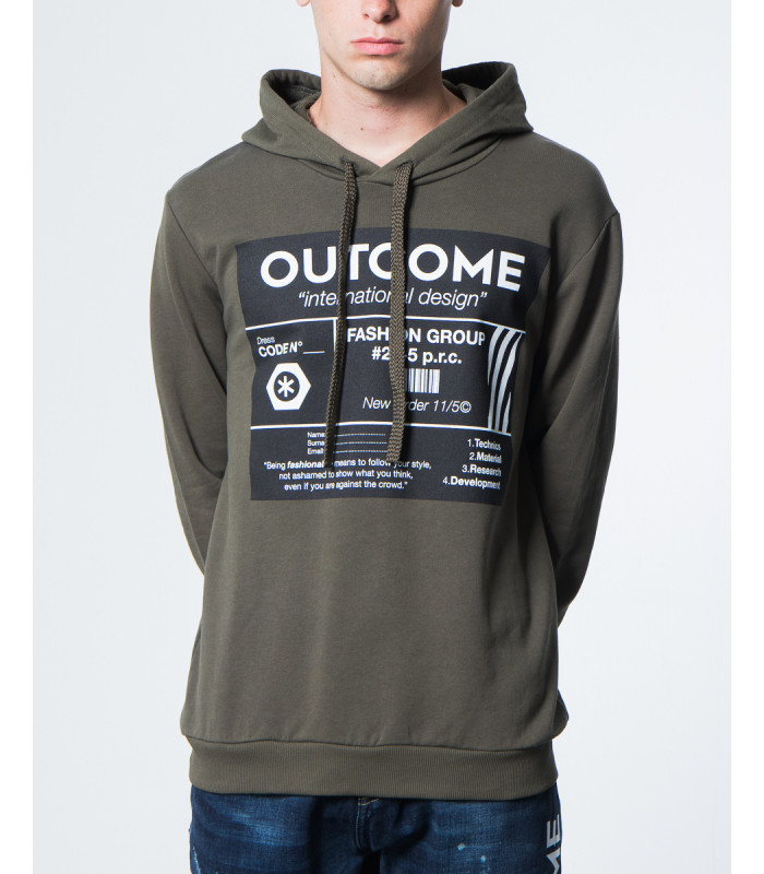 Outcome Hoodie With Giannilupo Print Hoodie With VMUpSqz