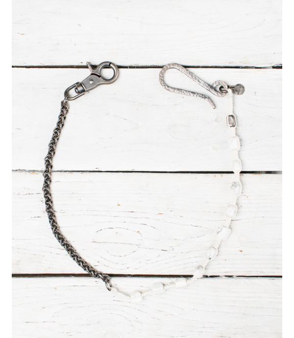 Trousers chain with beads