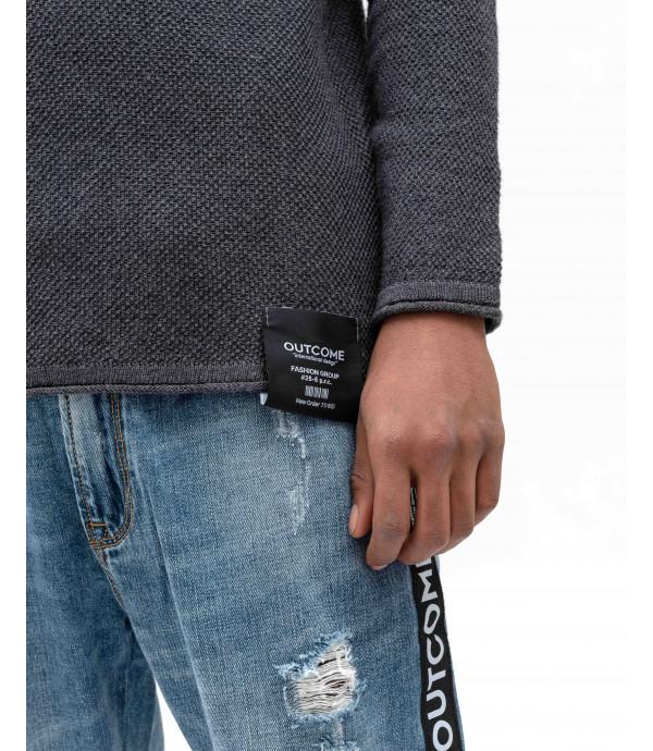 Colour block sweater
