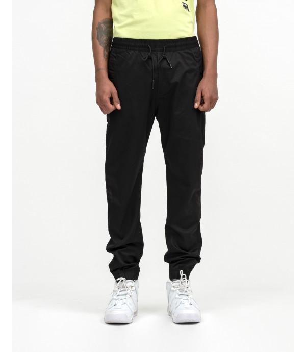 Tech fabric drawstring trousers