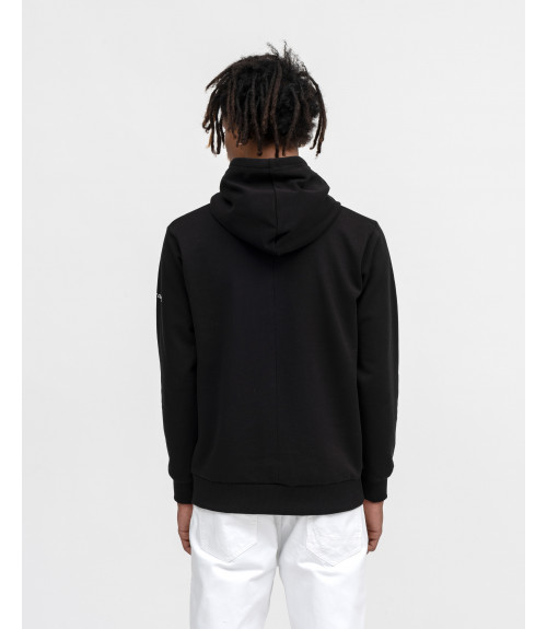 Hoodie with OUTCOME prints