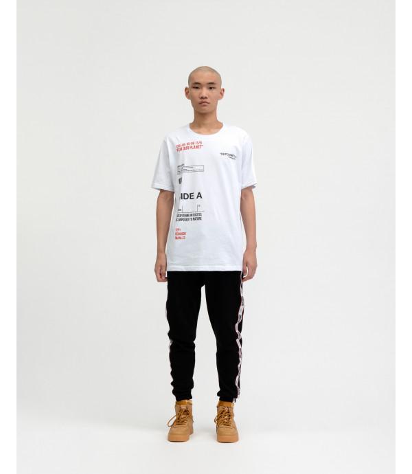 T-shirt OUTCOME con stampe