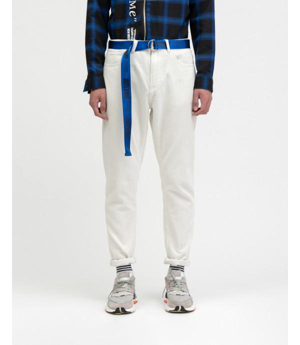 Pantalone a coste OUTCOME con cintura