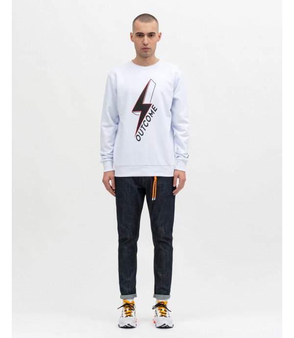Roundneck swatshirt with print
