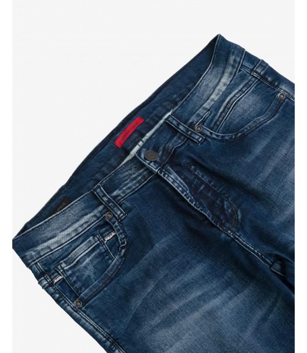 Jeans Steve super skinnt fit lavaggio scuro