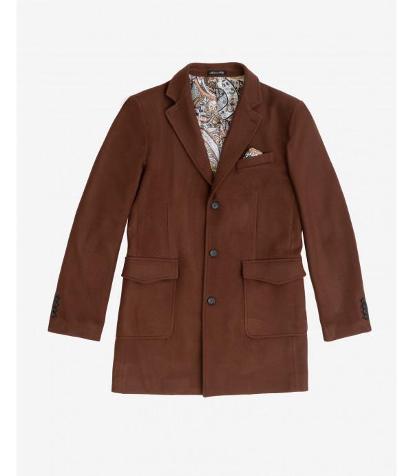 Coat with pockets