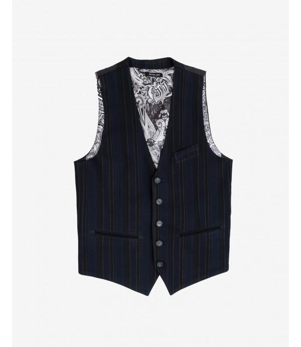 Striped waistcoat