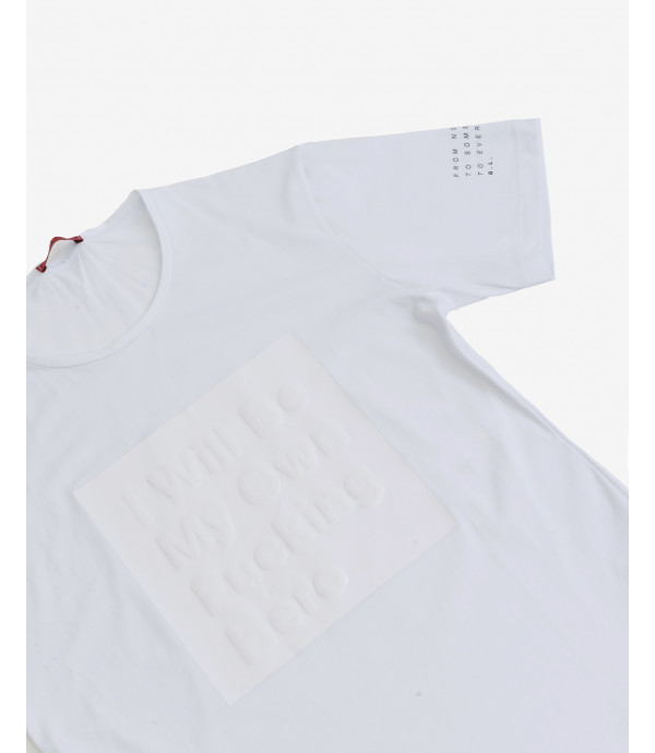 T-shirt with application