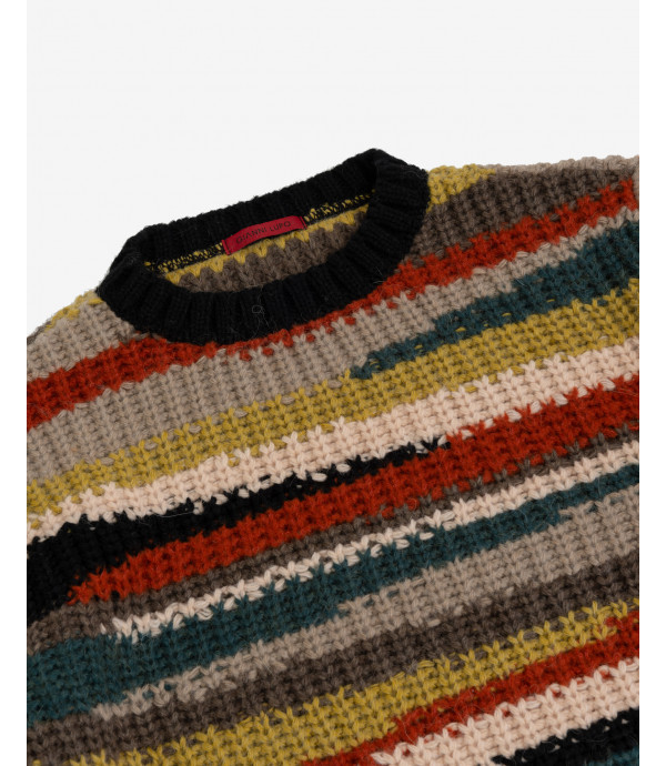 Jumper with intarsia