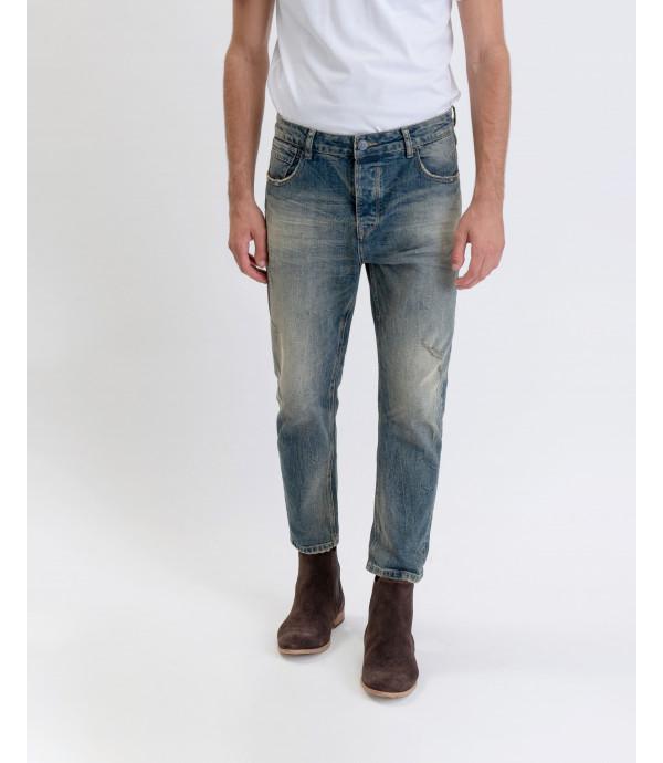 Bruce regular fit medium wash jeans