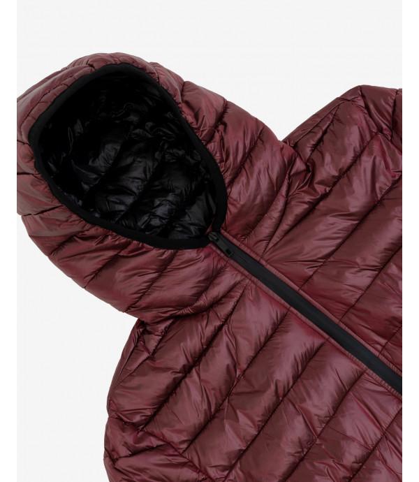 Basic hooded puffer jacket