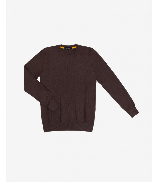 Basic crewneck knitted jumper