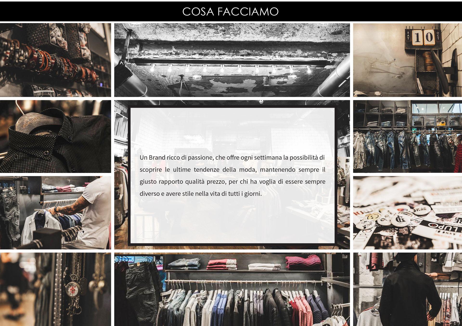 Brand ricco di passione, offre ogni settimana le ultime tendenze nella moda. Qualità prezzo giusti.